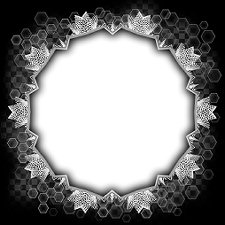 honeycomb-lace-frame